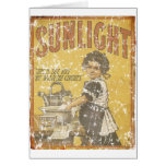 Sunlight Soap - 1873- distressed Card