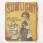 Sunlight Soap - 1873 Mouse Pad