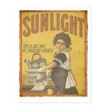 Sunlight Soap - 1873 Post Card