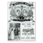 Sunlight Soap advertisement Card