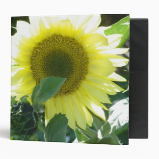 Sunlight Sunflower 3 Ring Binder
