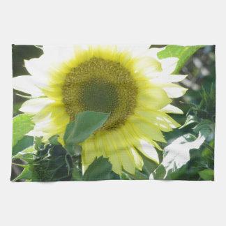 Sunlight Sunflower Hand Towel