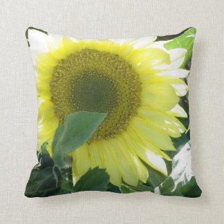 Sunlight Sunflower Throw Pillow
