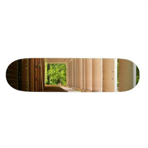 Sunlight Through Columns Skate Board
