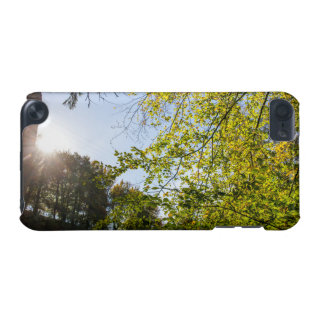 Sunlight Through Green Autumn Leaves iPod Touch 5G Case