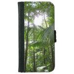 Sunlight Through Rainforest Canopy Tropical Green iPhone 6 Wallet Case