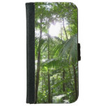 Sunlight Through Rainforest Canopy Tropical Green Wallet Phone Case For iPhone 6/6s
