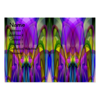 Sunlight Through the Clerestory Stained-Glass Look Business Card