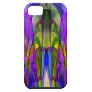 Sunlight Through the Clerestory Stained-Glass Look iPhone 5 Cover