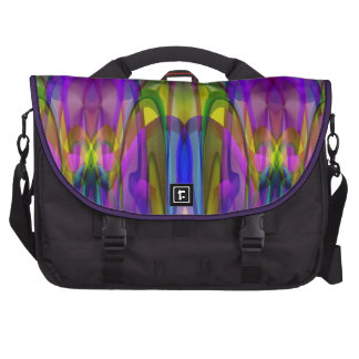 Sunlight Through the Clerestory Stained-Glass Look Commuter Bags