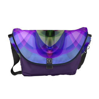 Sunlight Through the Clerestory Stained-Glass Look Messenger Bags