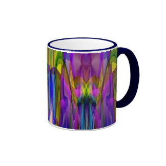 Sunlight Through the Clerestory Stained-Glass Look Mugs