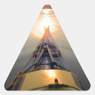 sunlines triangle sticker