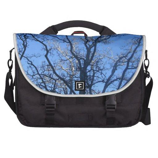 Sunlit Branches Laptop Bags