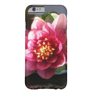 Sunlit Dark Pink Water Lily Flower Barely There iPhone 6 Case