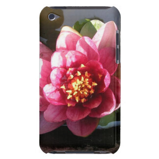 Sunlit Dark Pink Water Lily Flower Barely There iPod Cover