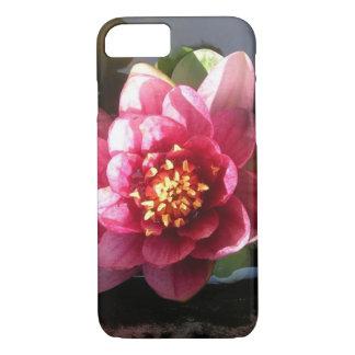 Sunlit Dark Pink Water Lily Flower iPhone 8/7 Case