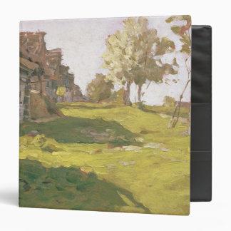 Sunlit Day. A Small Village, 1898 Binder