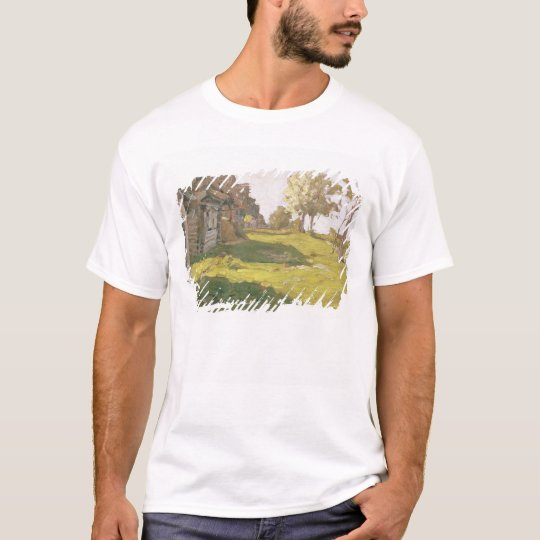 Sunlit Day. A Small Village, 1898 T-Shirt