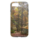 Sunlit Fall Trail in Laurel Hill State Park iPhone 7 Case