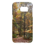 Sunlit Fall Trail in Laurel Hill State Park Samsung Galaxy S7 Case