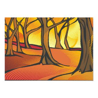 Sunlit Forest Set Card