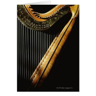 Sunlit Harp Card