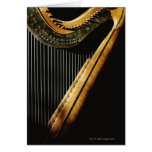 Sunlit Harp Greeting Cards