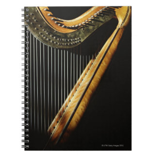 Sunlit Harp Note Book