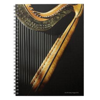 Sunlit Harp Notebook