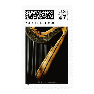 Sunlit Harp Postage
