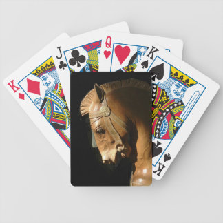 Sunlit Horse Bicycle Playing Cards