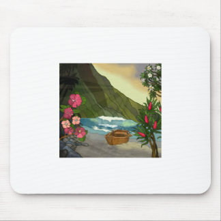 Sunlit Lover's Cove Mouse Pad