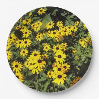 Sunlit Meadow 9 Inch Paper Plate