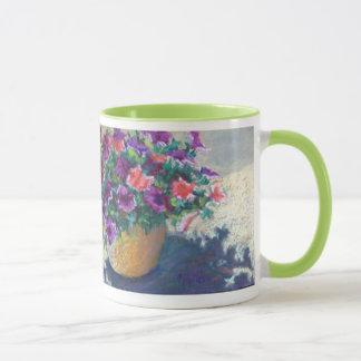 Sunlit Petunias Mug