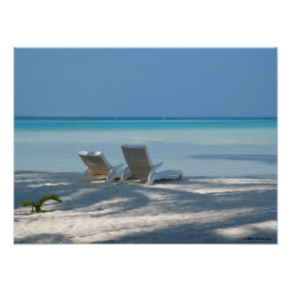 Sunloungers Poster