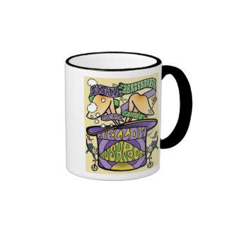 sunmerc flyer (top hat) ringer coffee mug