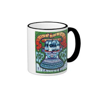 sunmerc flyer (typewriter) ringer coffee mug