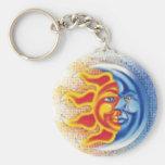 SunMoon Keychain