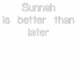 Sunnah is better than later polo