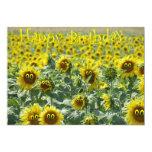 Sunnies del cumpleaños invitación 12,7 x 17,8 cm