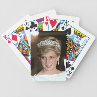 Sunning! HRH Princess of Wales Bicycle Playing Cards