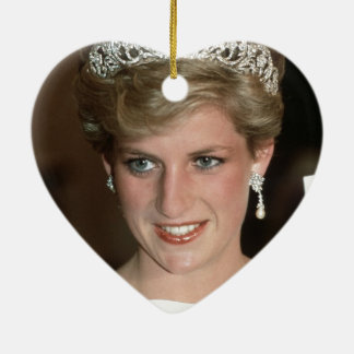Sunning! HRH Princess of Wales Ceramic Ornament