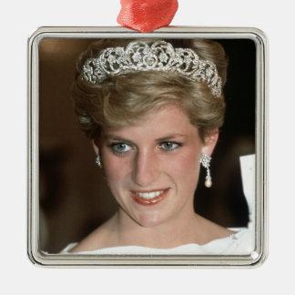 Sunning! HRH Princess of Wales Metal Ornament