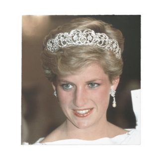 Sunning! HRH Princess of Wales Note Pad