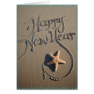 Sunning in the New Year Card
