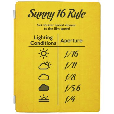 Beach Themed Sunny 16 rule iPad smart cover