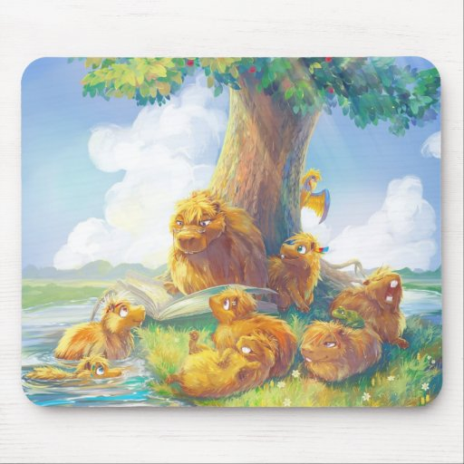 Sunny Afternoon II Mouse Pad
