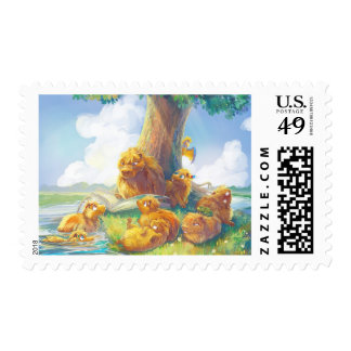 Sunny Afternoon II Postage Stamps