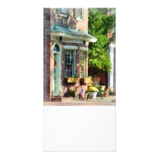 Sunny Afternoon New Castle DE Personalized Photo Card